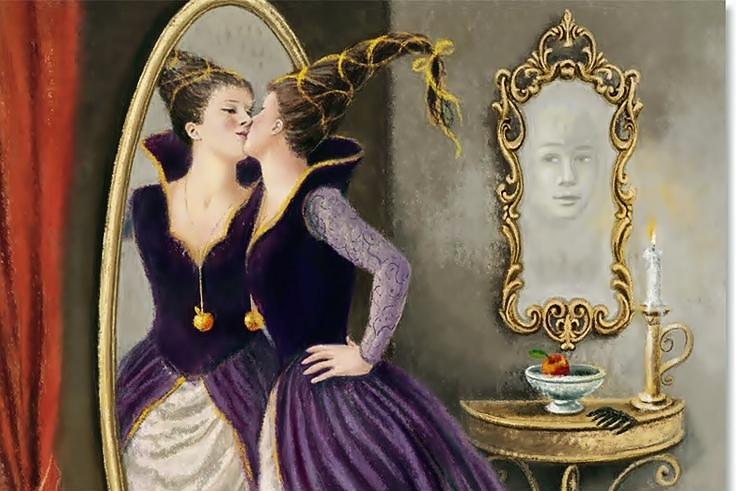 Lo specchio, tra favole, miti e leggende