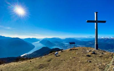Monte Boglia, alla conquista del blu
